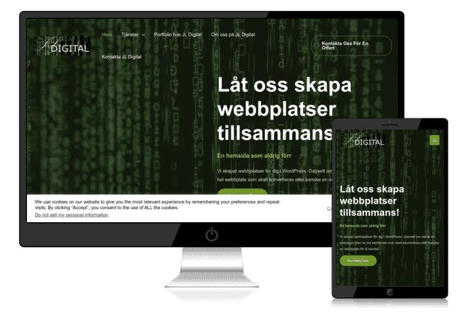 Portfolio hos JL Digital